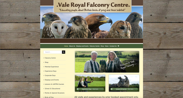 Vale Royal Falconry