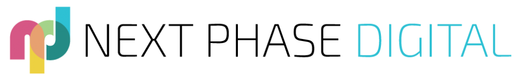 The Next Phase Digital Logo - Logo Design Cheshire